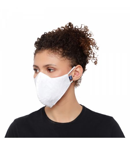 Organic Cotton White Mask (pack Of 2)